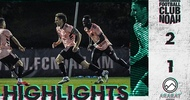Highlights of the match with